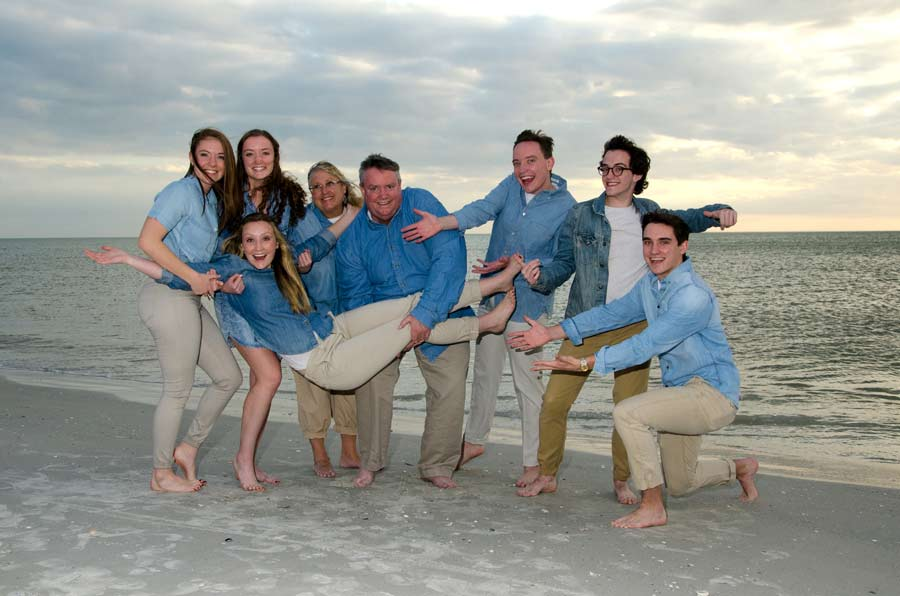 St Pete Beach PhotographersPaul R Farmer Photography Treasure Island FL Family Beach Portraits